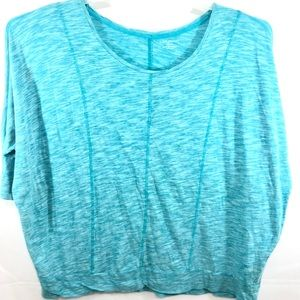 Lane Bryant Blouse Pullover 3/4 Sleeve Size 22/24